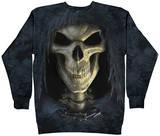 Crewneck Sweatshirt: Big Face Death Shirts