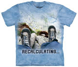 Recalculating Outdoor T-shirts