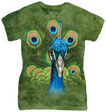 Juniors: Vibrant Peacock T-shirts