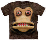 Youth: Big Face Cymbal Monkey T-shirts