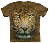 Youth: Big Face Leopard T-shirts