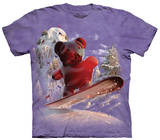 Youth: Snowboard Bear T-shirts