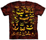 Youth: Jack O Lantern Wall Shirts