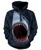 Hoodie: Shark Bite Pullover Hoodie