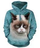 Hoodie: Grumpy Cat Sweat à capuche