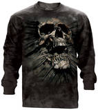 Long Sleeve: Breakthrough Skull - Tişört