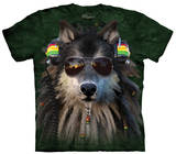 Youth: Rasta Wolf Shirt