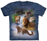 Youth: Global Big Cats T-shirts