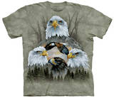 Five Eagle Collage T-shirts