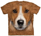 Youth: Big Face Jack Russell Terrier T-shirts