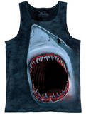 Tank Top: Shark Bite Tanktop