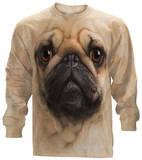 Long Sleeve: Pug Face T-shirts