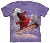 Snowboard Bear T-shirts
