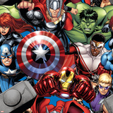 Avengers Assemble - Patterns Poster