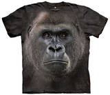 Big Face Low Gorilla T-shirts