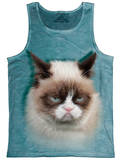 Tank Top: Grumpy Cat Tank Top