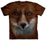Youth: Big Face Fox T-shirts