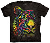 Rainbow Tiger T-shirts