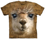 Youth: Big Face Alpaca T-shirts