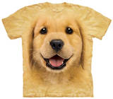 Youth: Golden Retriever Puppy T-shirty