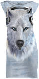 Mini Dress: White Wolf DJ Mini Dress