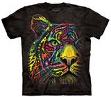 Youth: Rainbow Tiger Shirt