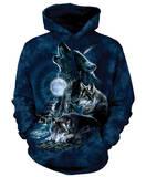 Hoodie: Bark At The Moon Pullover Hoodie