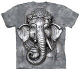 Youth: Big Face Ganesh T-shirts