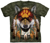 Native Wolf Spirit Shirts