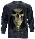 Long Sleeve: Big Face Death Koszulki