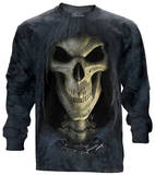 Long Sleeve: Big Face Death Shirt