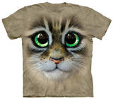 Youth: Big Eyes Kitten Face T-Shirt