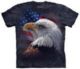 American Pride Eagle Magliette