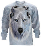 Long Sleeve: White Wolf DJ Shirts