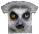 Youth: Big Face Ring Tailed Lemur T-shirts