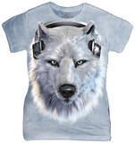Juniors: White Wolf DJ Shirt
