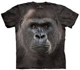 Youth: Big Face Low Gorilla Smithsonian Collection T-shirts