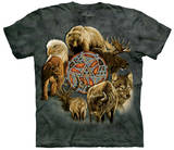 Animal Spirit Circle Shirts