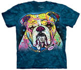 Colorful Bulldog T-shirts