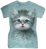 Women's: Blue Eyed Kitten T-Shirt