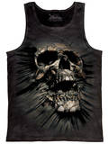 Tank Top: Breakthrough Skull Tank Top