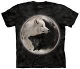 Ying Yang Wolves T-shirts