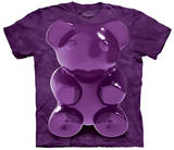Purple Chewy Bear T-shirts