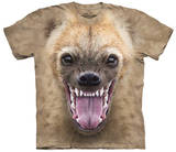 Big Face Hyena Shirts