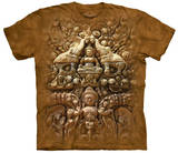 Buddha Wall T-shirts
