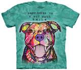Pit Bull Smile T-skjorter