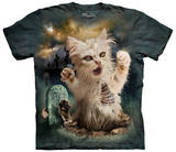 Zombie Cat T-shirts