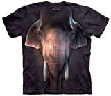 Big Face Asian Elephant T-Shirt