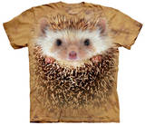 Big Face Hedgehog T-shirts