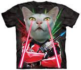 Lazer Cat Shirts